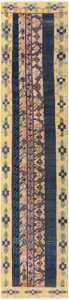 Antique Khotan Runner Rug from East Turkestan 48427 Nazmiyal