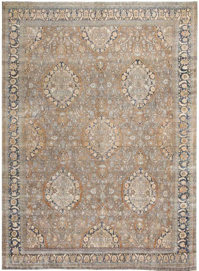 Antique Persian Bibikabad Rug 50156 Nazmiyal