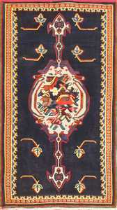 Antique Persian Senneh Kilim Rug 48786 Nazmiyal