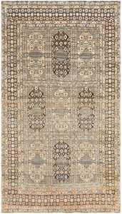 Antique Persian Tehran Rug 50034 Detail/Large View