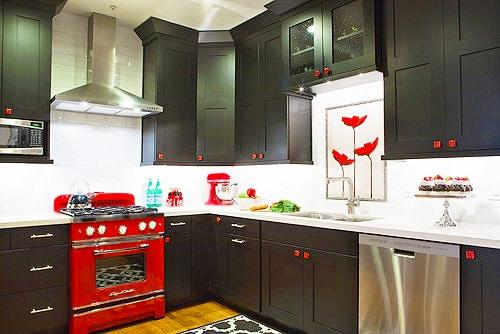 Asian theme Kitchen Decor by Nazmiyal