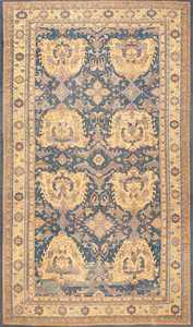 Decorative Antique Turkish Oushak Rug 50569 Nazmiyal