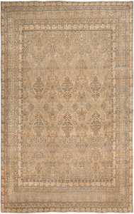 decorative large antique persian kerman rug 50584 Nazmiyal