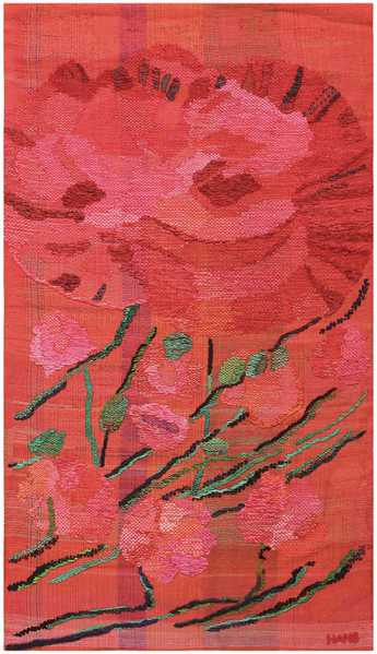 Red Themed Decor - Hans, Krondahl, Tapestry, Circa, Valentine's, Day