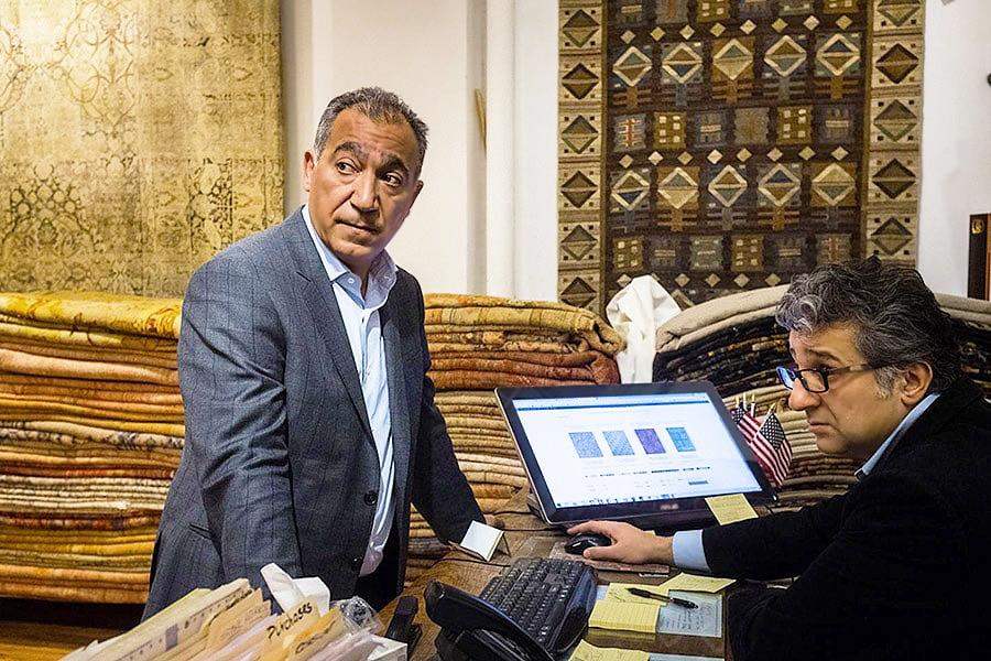 Newsweek Article Features Nazmiyal Persian rugs