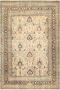 Large Antique Persian Khorassan Rug 50585 Nazmiyal
