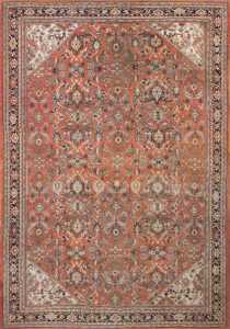 Large Antique Persian Sultanabad Rug 50377 Nazmiyal