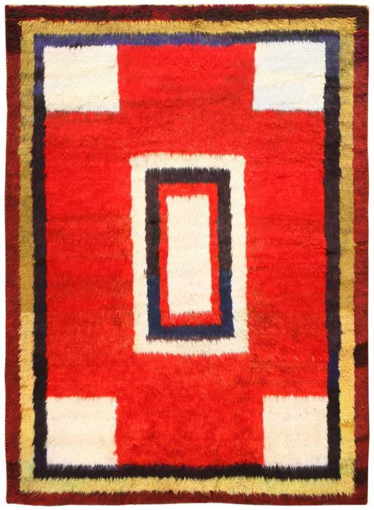 Vintage Persian Gabbeh Rug 48775 Detail/Large View