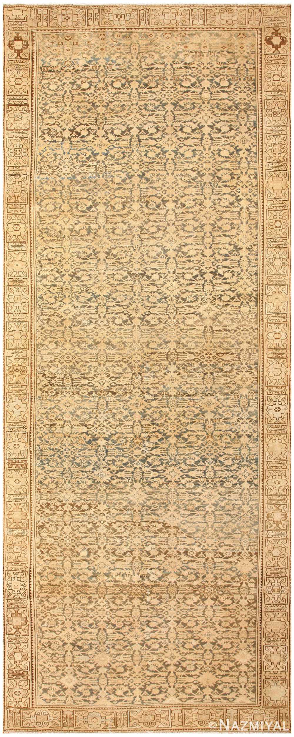 Antique Persian Malayer Rug 50439 Detail/Large View