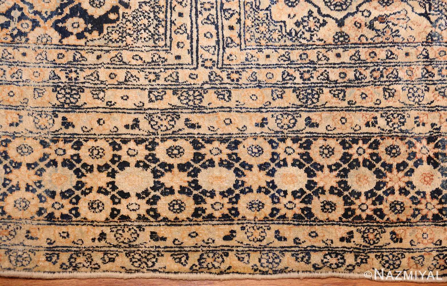 antique persian tehran rug 50034 border Nazmiyal