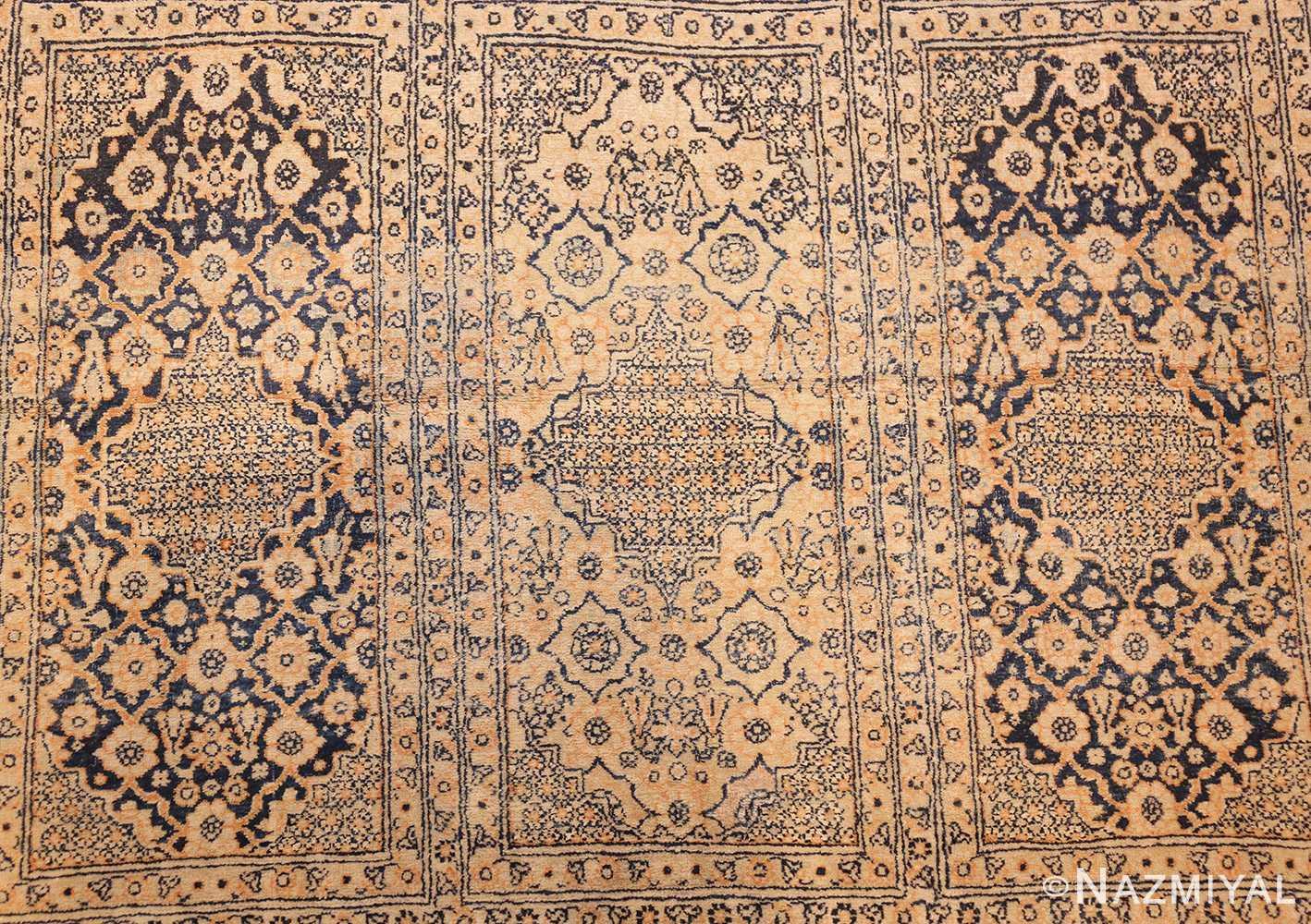 antique persian tehran rug 50034 field Nazmiyal