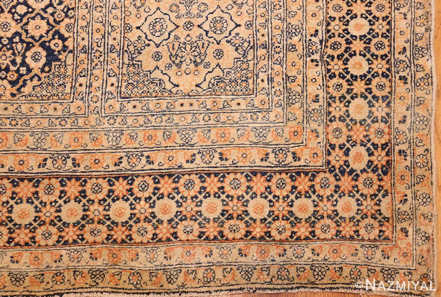 antique persian tehran rug 50034 part Nazmiyal