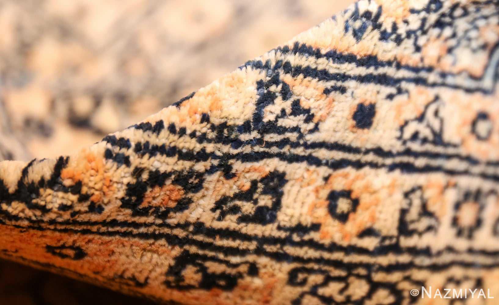 antique persian tehran rug 50034 pile Nazmiyal