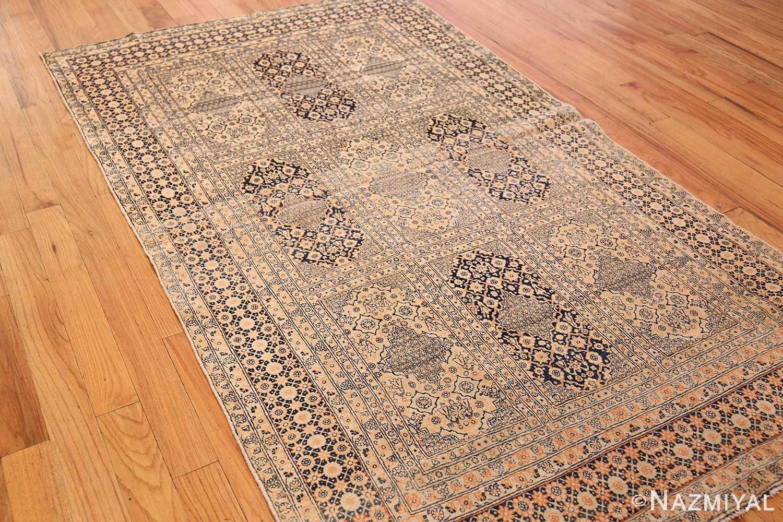 antique persian tehran rug 50034 side Nazmiyal