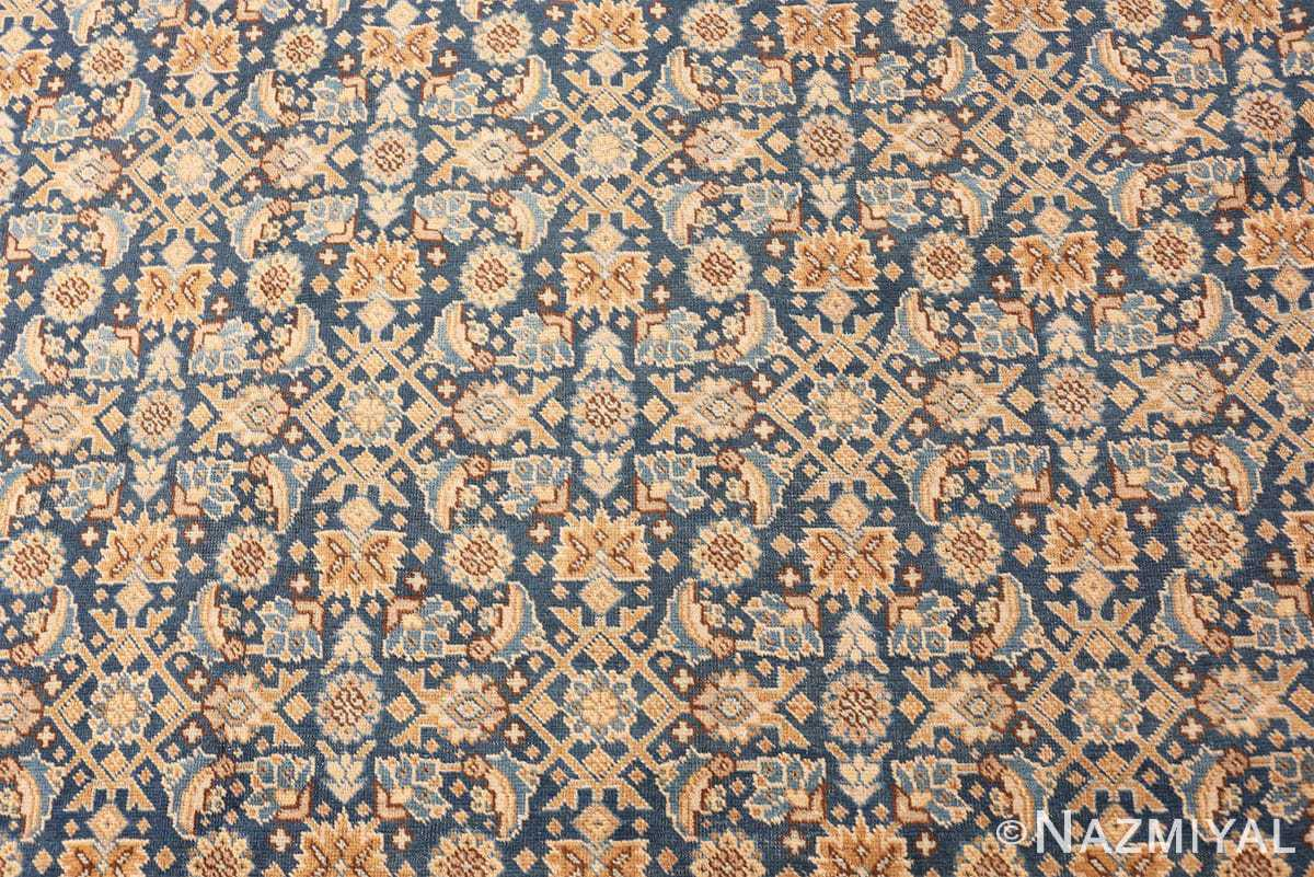 Background Room size Antique Persian Tabriz rug 50580 by Nazmiyal
