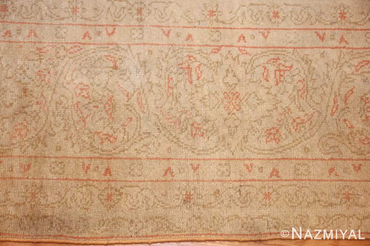 beautiful decorative antique turkish oushak rug 50545 border Nazmiyal