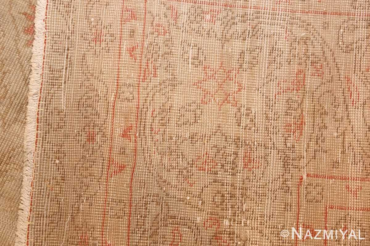 beautiful decorative antique turkish oushak rug 50545 weave Nazmiyal