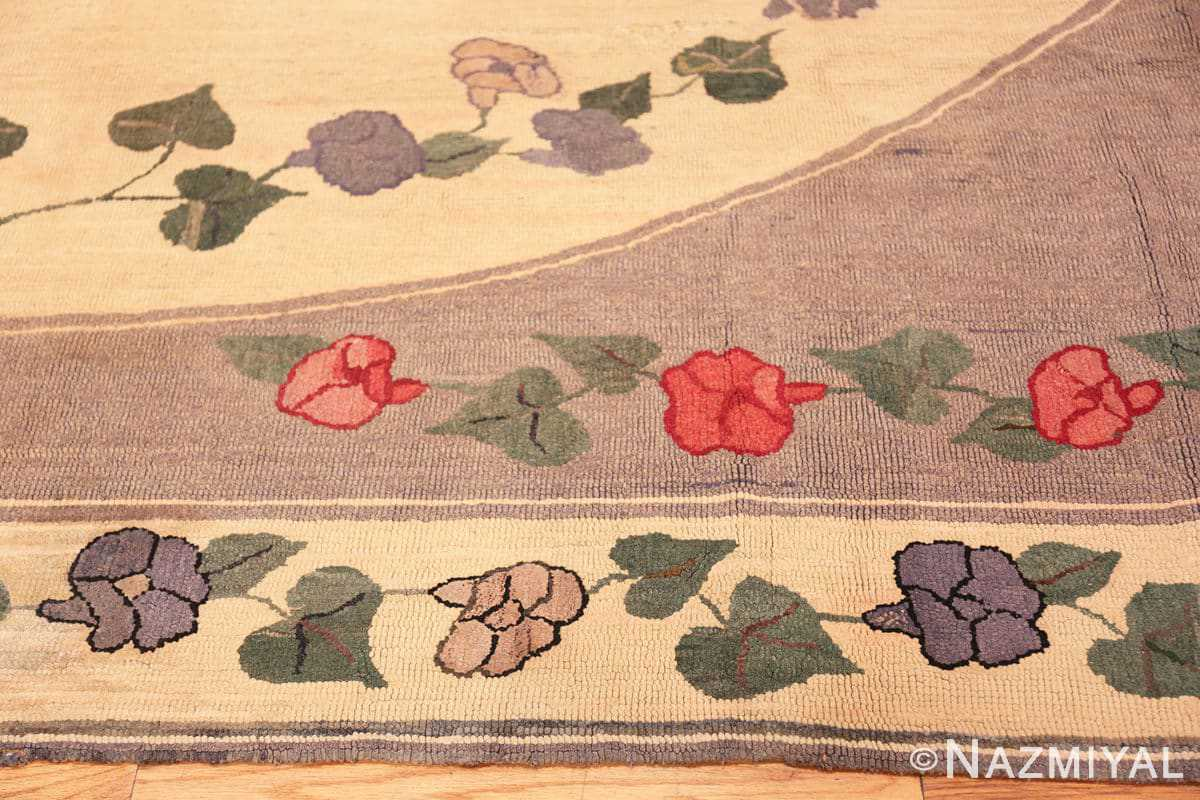 Border Botanic Antique American rug 50557 by Nazmiyal