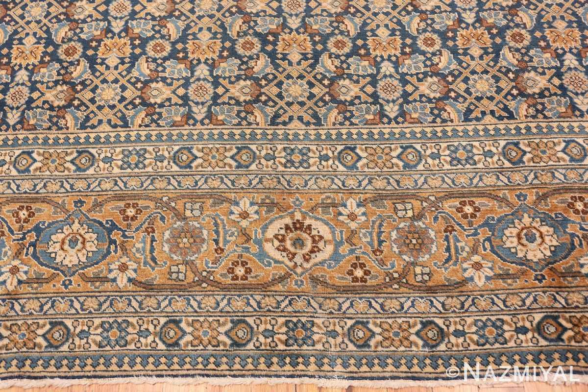 Border Room size Antique Persian Tabriz rug 50580 by Nazmiyal