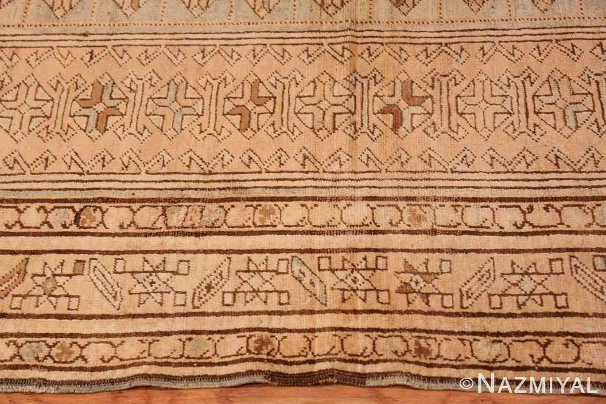 Border Tribal Vintage Caucasian Kazak rug 50542 by Nazmiyal