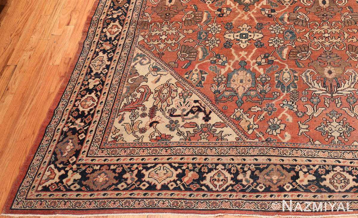 Corner Large Oversized Antique Persian Sultanabad rug 50377 by Nazmiyal