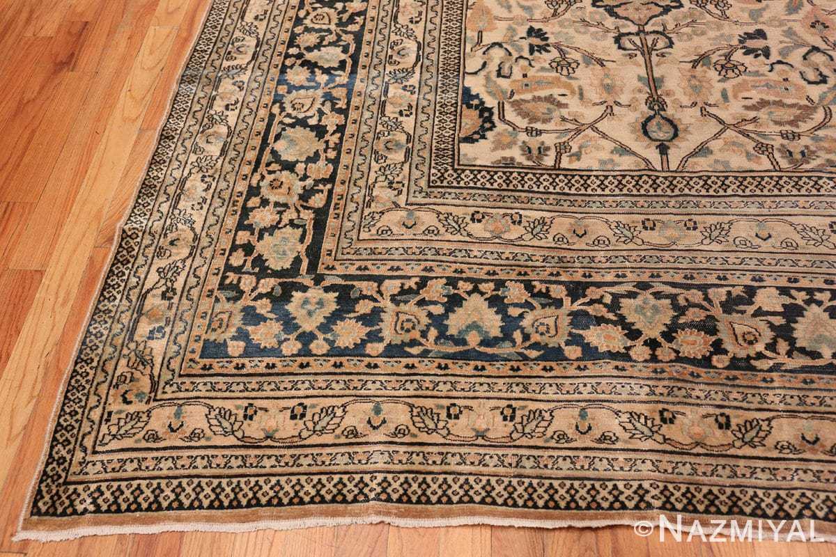 Corner Large Antique Persian Khorassan rug 50585 by Nazmiyal