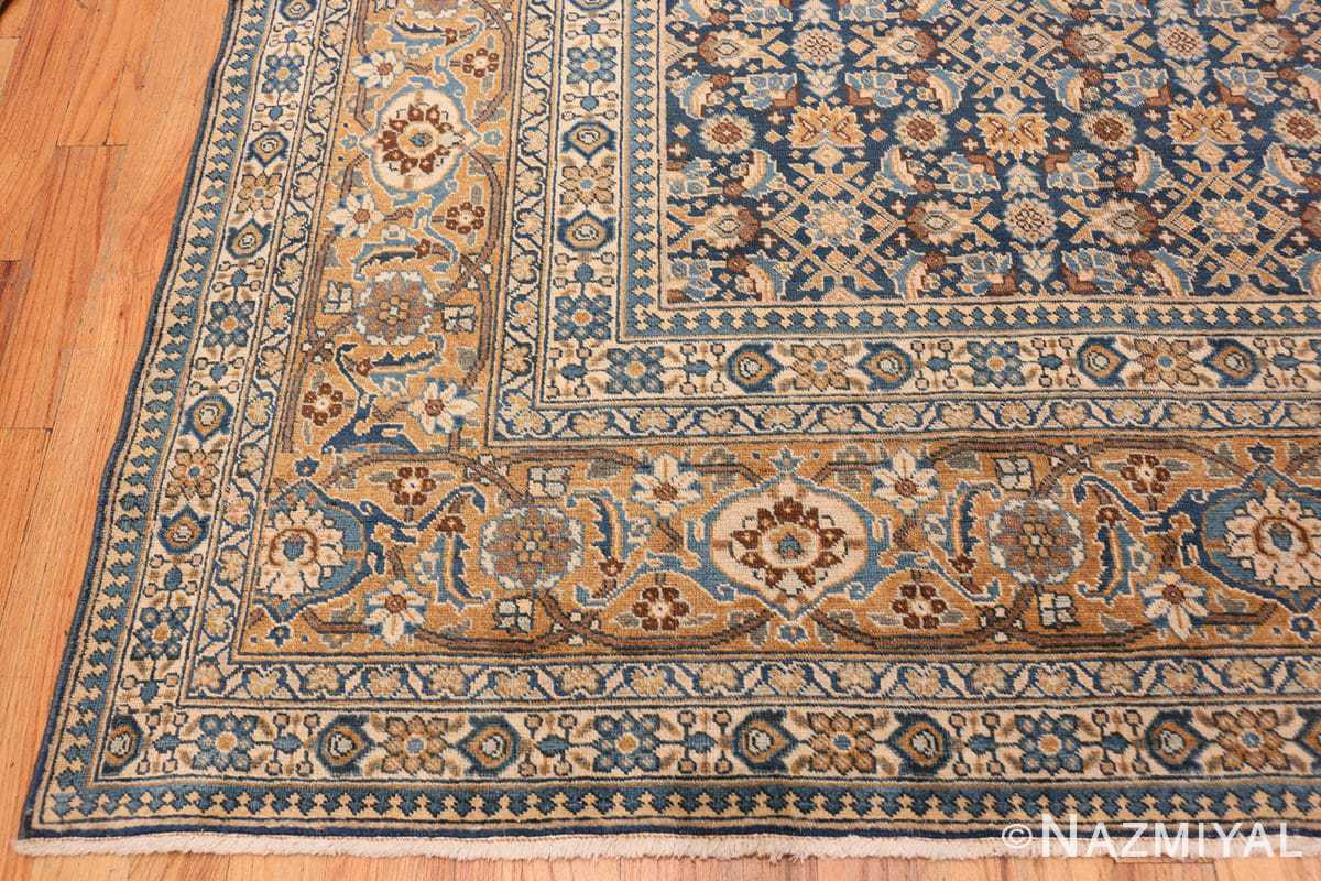 Corner Room size Antique Persian Tabriz rug 50580 by Nazmiyal