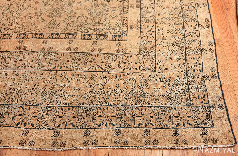 decorative large antique persian kerman rug 50584 corner Nazmiyal
