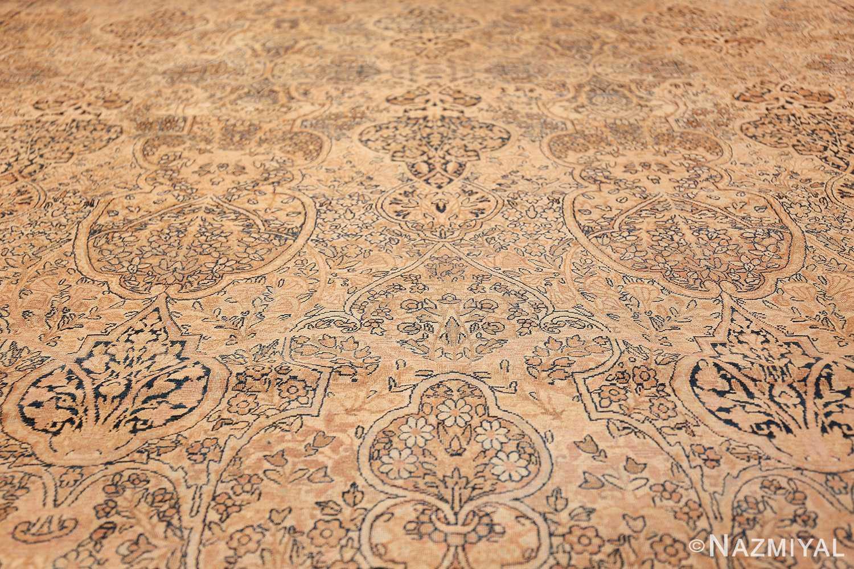 decorative large antique persian kerman rug 50584 field Nazmiyal