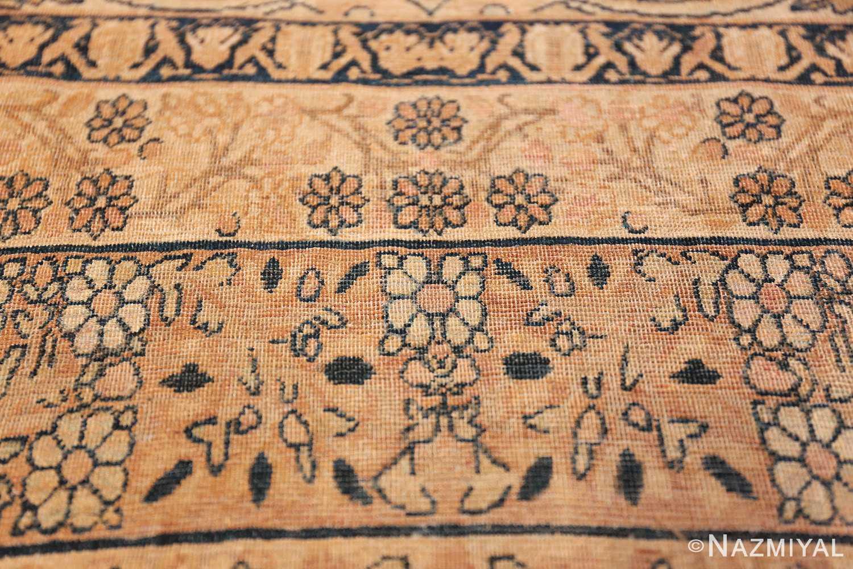 decorative large antique persian kerman rug 50584 flower Nazmiyal