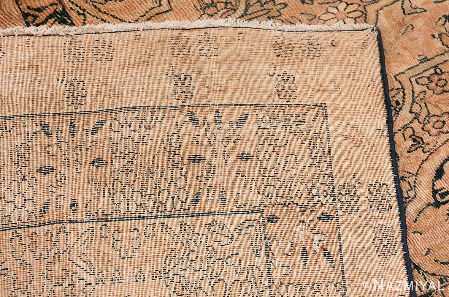 decorative large antique persian kerman rug 50584 knots Nazmiyal