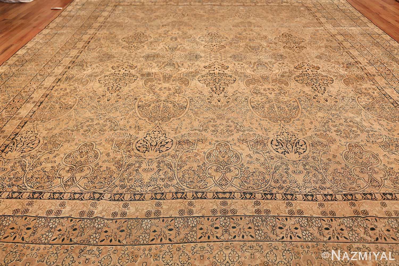 decorative large antique persian kerman rug 50584 pattern Nazmiyal