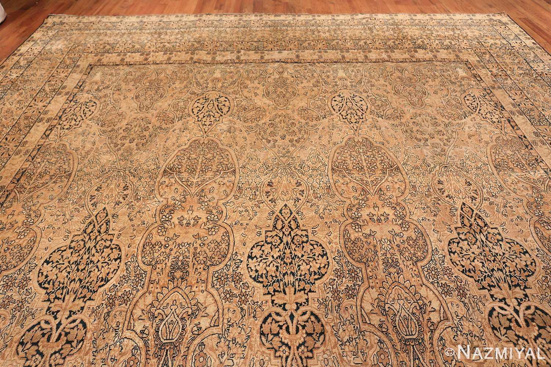 decorative large antique persian kerman rug 50584 top Nazmiyal