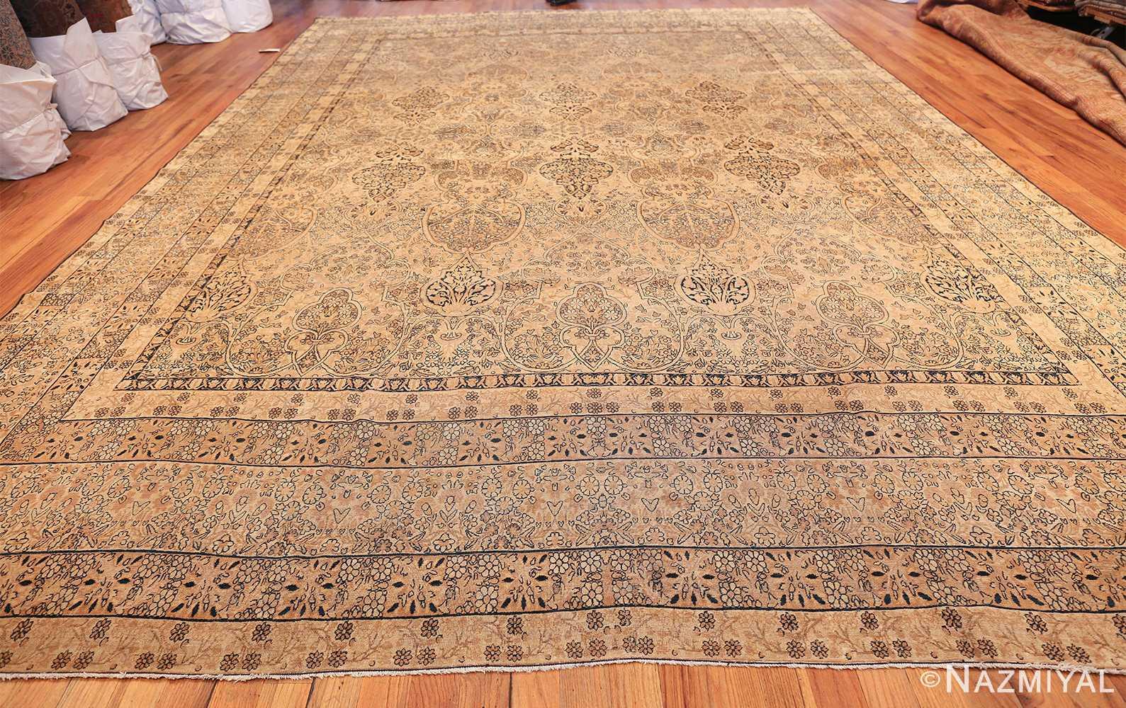 decorative large antique persian kerman rug 50584 whole Nazmiyal