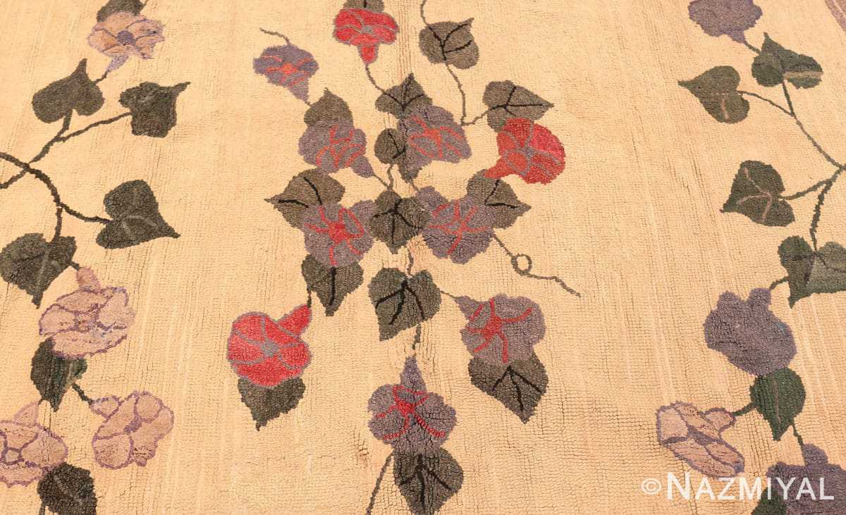 Detail Botanic Antique American rug 50557 by Nazmiyal