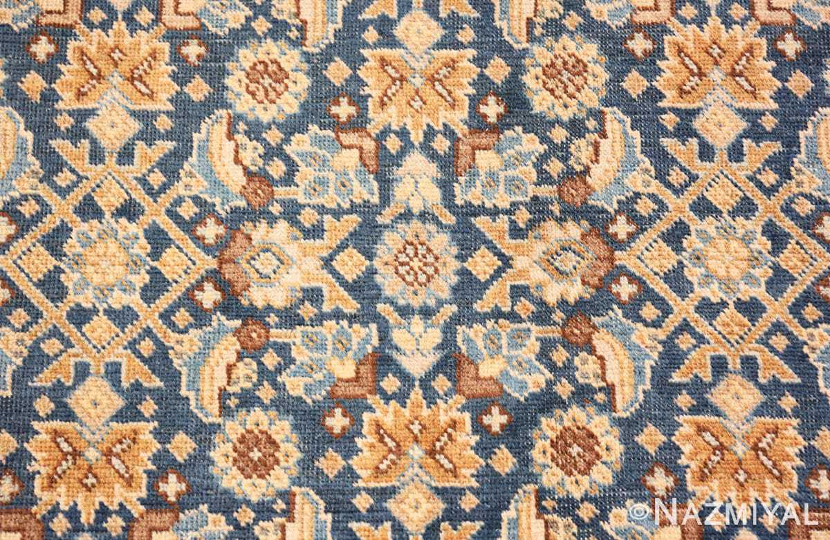Close-up Room size Antique Persian Tabriz rug 50580 by Nazmiyal