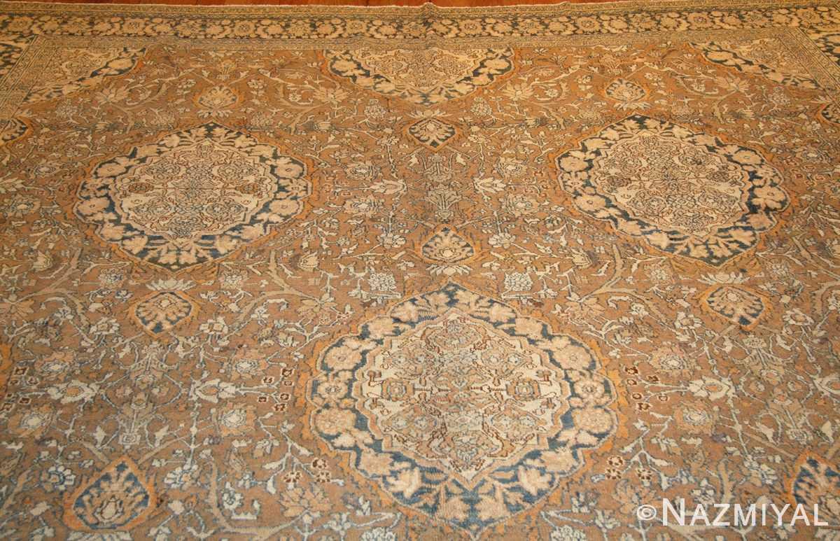 elegant antique persian bibikabad rug 50156 field Nazmiyal