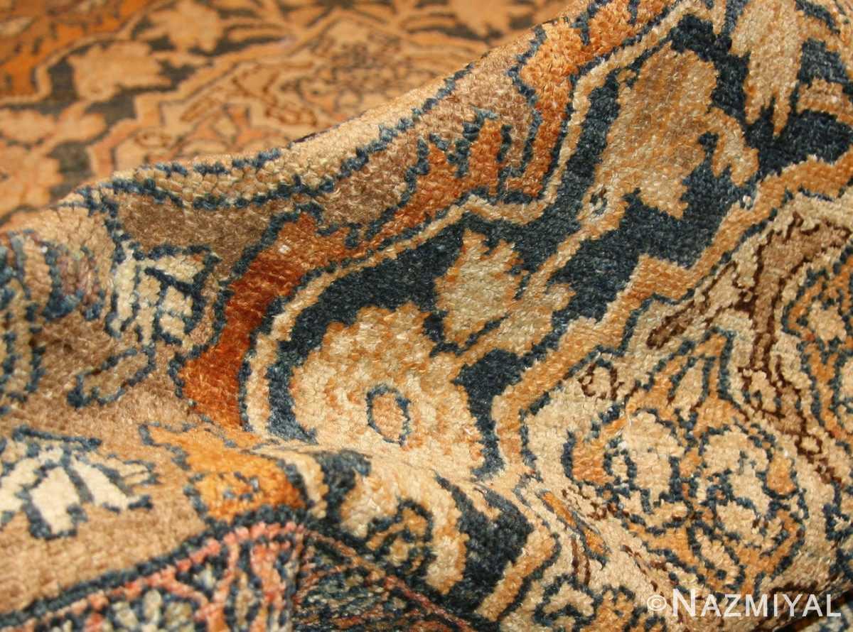 elegant antique persian bibikabad rug 50156 pile Nazmiyal