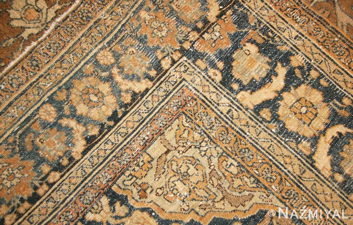 elegant antique persian bibikabad rug 50156 weave Nazmiyal