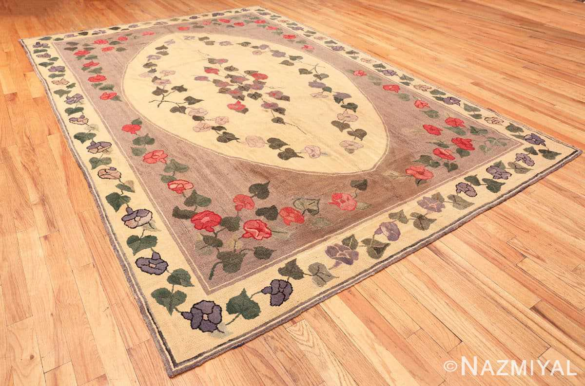 Full Botanic Antique American rug 50557 by Nazmiyal