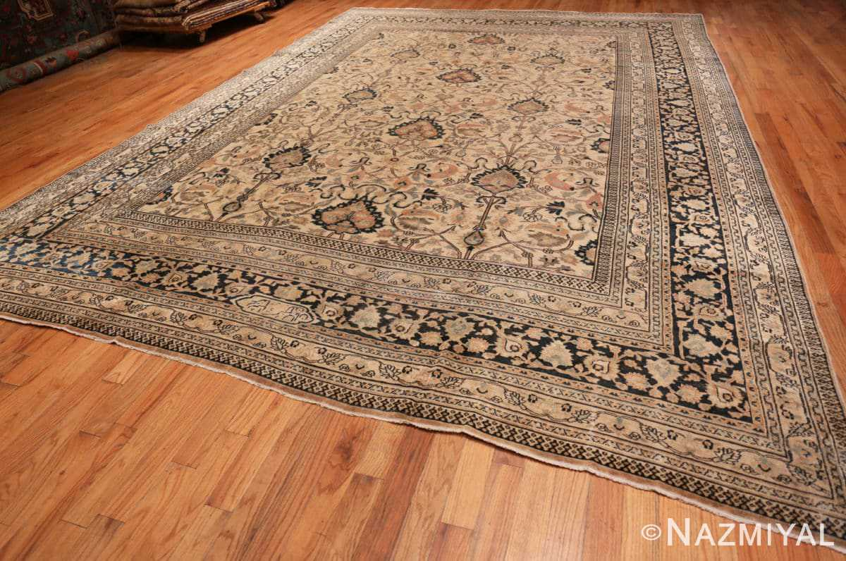 Full Large Antique Persian Khorassan rug 50585 by Nazmiyal