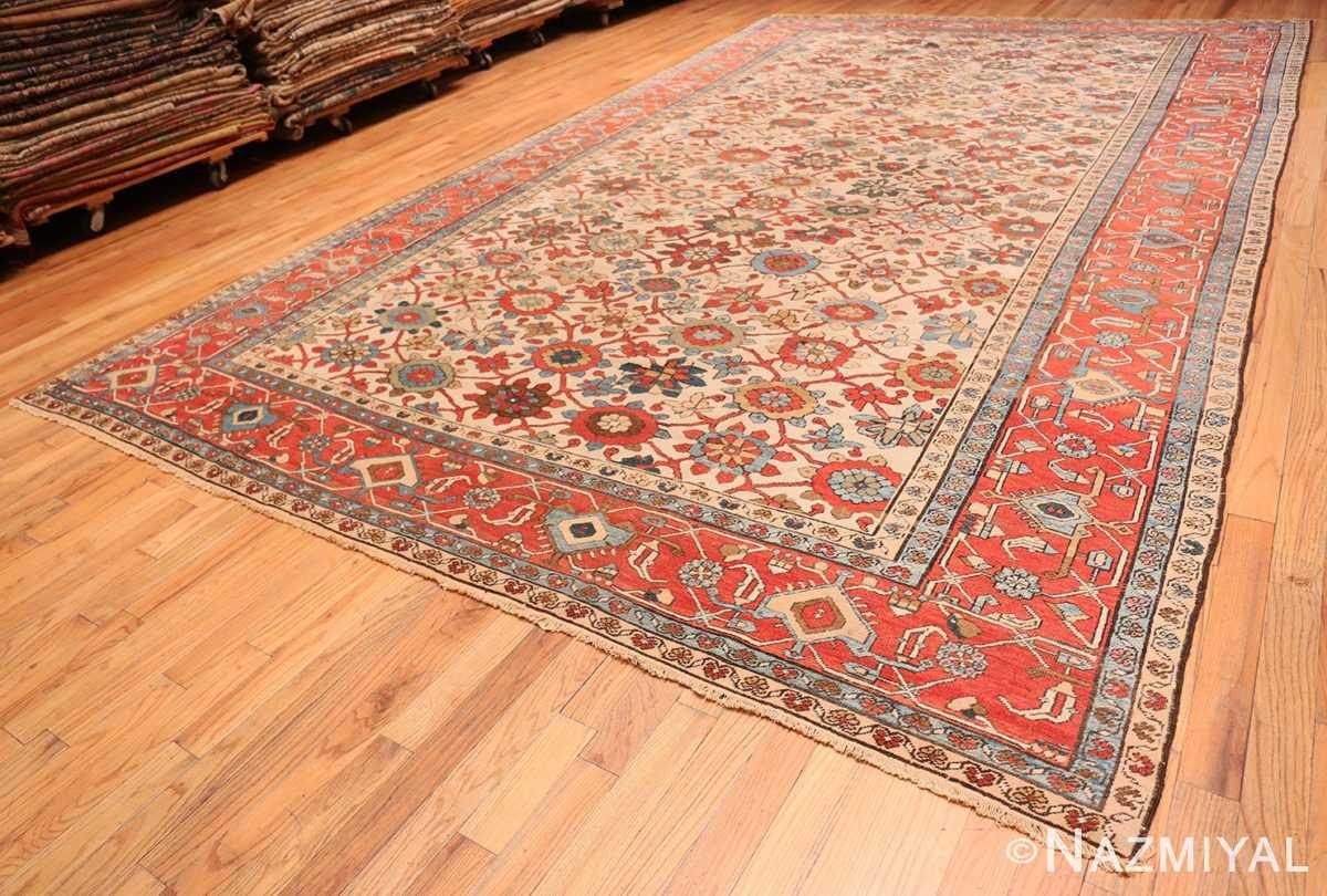 Full Large colorful Antique Persian Serapi rug 50593 by Nazmiyal