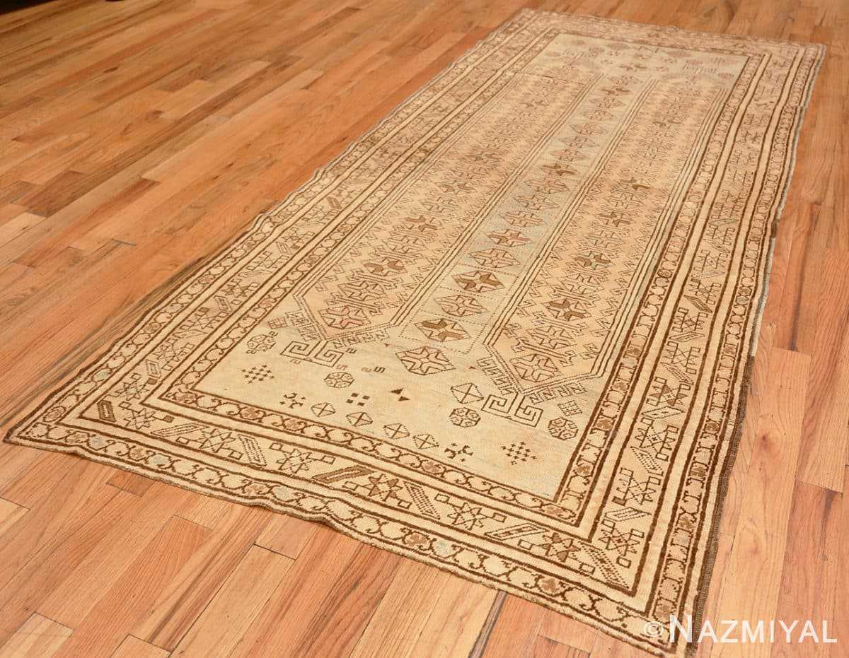 Full Tribal Vintage Caucasian Kazak rug 50542 by Nazmiyal