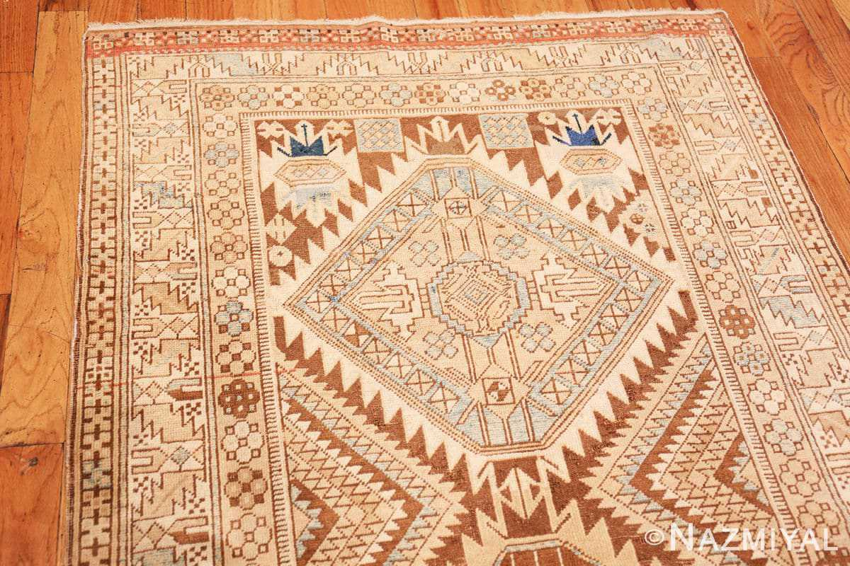 Full Tribal Vintage Caucasian Shirvan rug 50464 by Nazmiyal