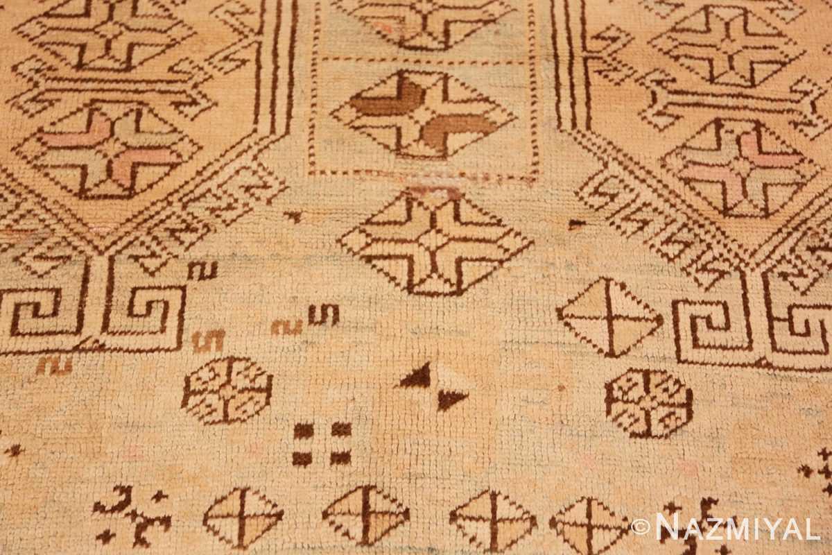 Geometrical detail Tribal Vintage Caucasian Kazak rug 50542 by Nazmiyal