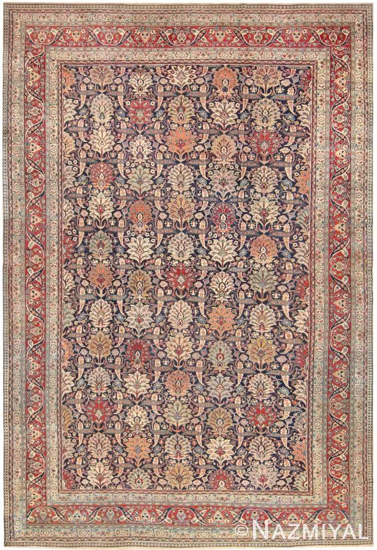 Large Antique Persian Khorassan Rug 50018 Nazmiyal