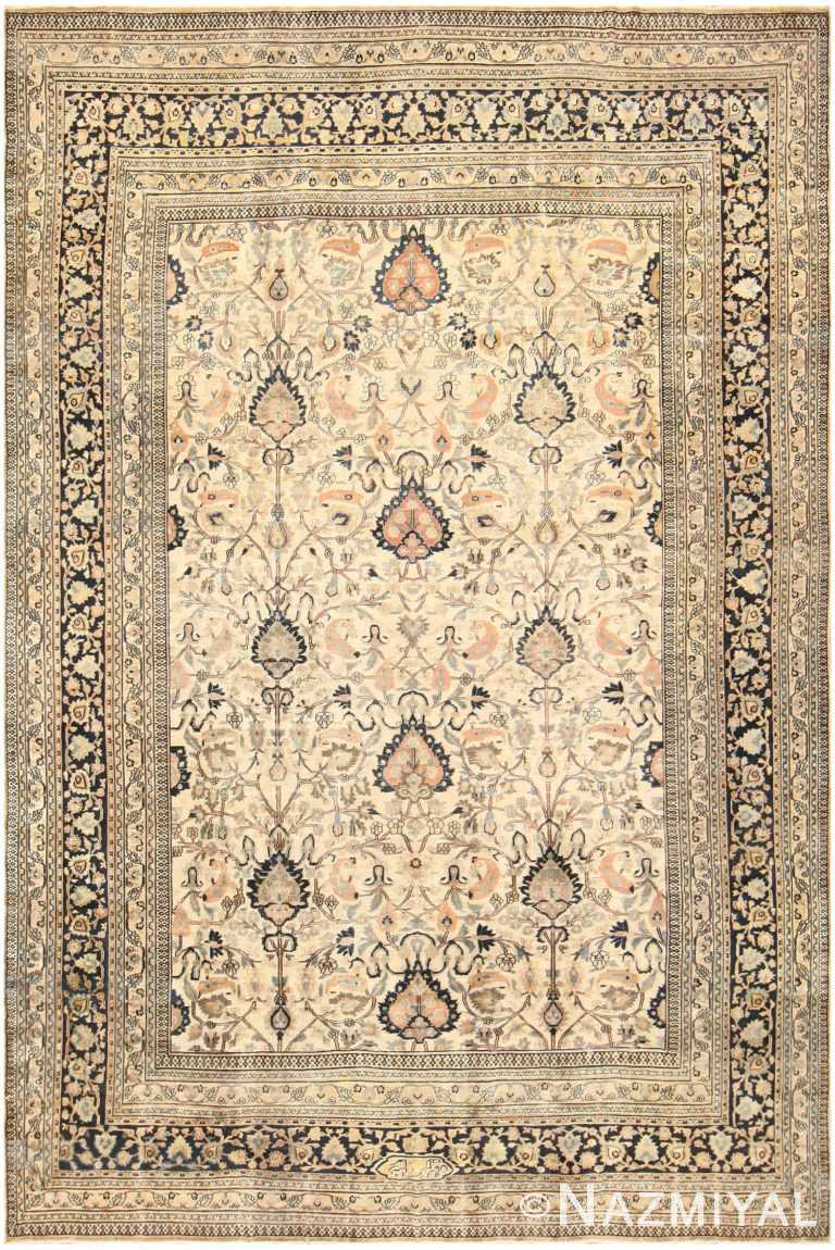 Large Antique Persian Khorassan Rug 50585 Nazmiyal