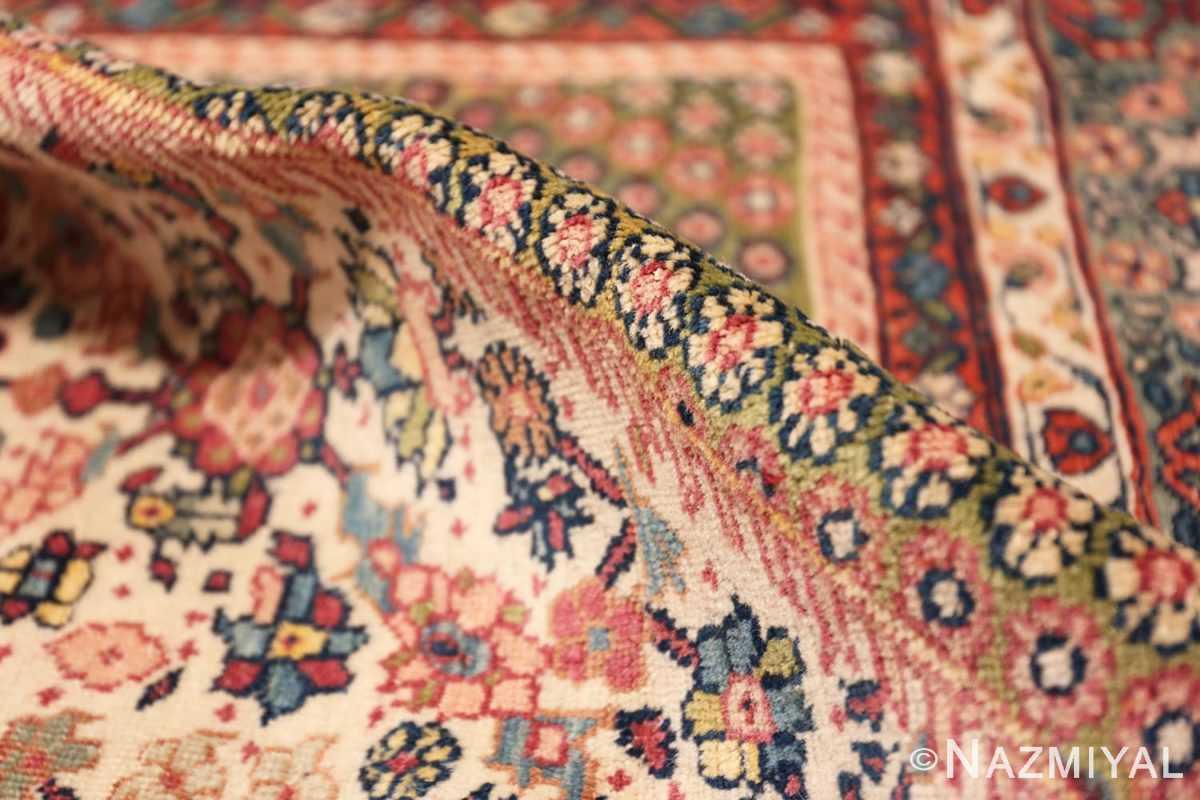 Pile Large Antique Ivory Haji Jalili Persian Tavriz rug 48729 by Nazmiyal