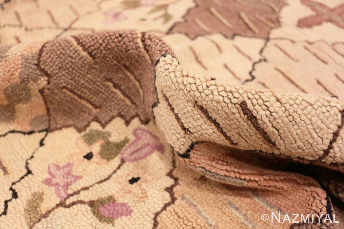 Pile Treillis Antique American Hooked rug 50558 by Nazmiyal