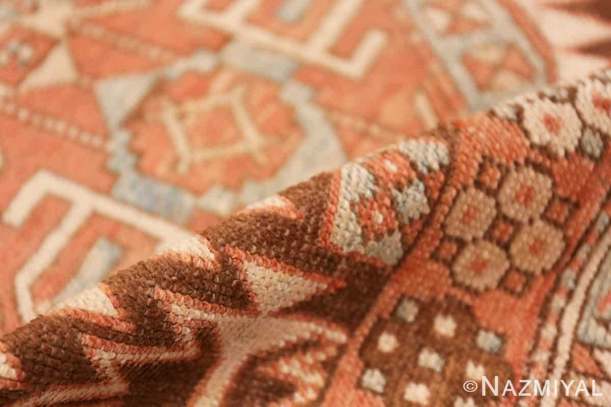 Pile Tribal Vintage Caucasian Shirvan rug 50464 by Nazmiyal